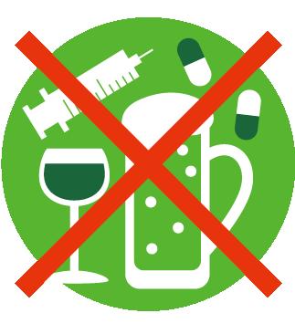 アルコール等の禁止